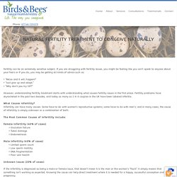 Natural Fertility Treatment To Conceive Naturally From Birds And Beas