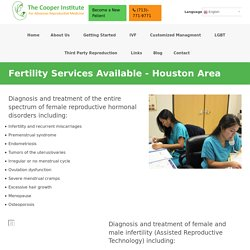Best Fertility Services Available in Houston