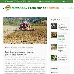 Fertilizantes, sus nutrientes y principales beneficios - Fabricación de Fosfatos, Fabricación de Fertilizantes, Fabricación de Fungicidas y Productos Agroquímicos en Iztapalapa Ciudad de México