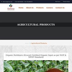 Organic Fertilizer Manufacturers in India
