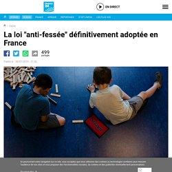 """La loi """"anti-fessée"""" définitivement adoptée en France"""