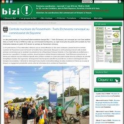 Centrale nucléaire de Fessenheim: Txetx Etcheverry convoqué au commissariat de Bayonne