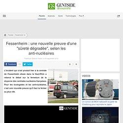 """Video - Fessenheim : une nouvelle preuve d'une """"sûreté dégradée"""", selon les anti-nucléaires - Maxisciences"""
