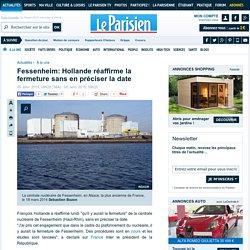 Fessenheim: Hollande réaffirme la fermeture sans en préciser la date
