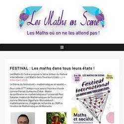 Festival ( 2021 ) – Les Maths en Scène