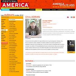 Festival America - Edition 2012 - les-auteurs - chris-adrian
