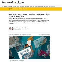Festival d'Angoulême : voici les 100 BD du siècle à lire absolument