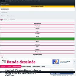 Festival d'Angoulême : la bonne santé de la BD en France en chiffres
