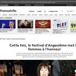 Cette fois, le festival d'Angoulême met les femmes à l'honneur
