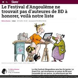Le Festival d'Angoulême ne trouvait pas d'auteures de BD à honorer, voilà notre liste