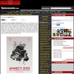 Festival d'Annecy 2013 : Bilan et palmarès