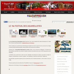 Festival des aquarellistes