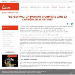 """""""Le festival : un moment charnière dans la carrière d'un artiste"""" - La Sacem"""