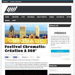 Festival Chromatic: Création à 360°
