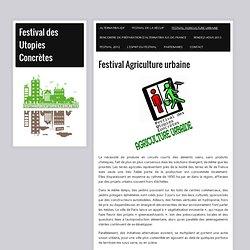 Festival Agriculture urbaine