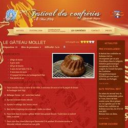 Festival des confreries - Le Gâteau Mollet