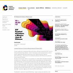 XX Festival di Cultura e Musica Jazz