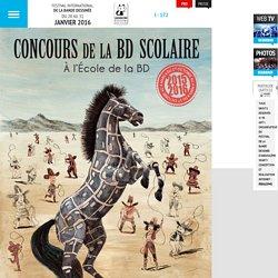 44e Festival de la Bande Dessinée d'Angoulême – Du 26 au 29 janvier 2017 - Édition 2015/2016 du Concours de la bande dessinée scolaire