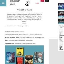 Prix BD des lycéens