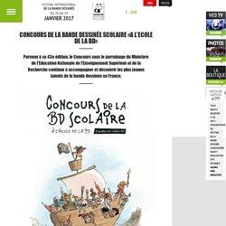 45e Festival de la Bande Dessinée d'Angoulême – Du 25 au 28 janvier 2018 - Concours de la bande dessinée scolaire «A l'Ecole de la BD»