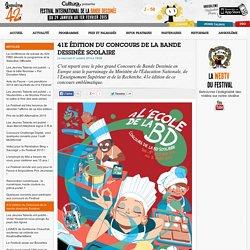 41e édition du Concours de la bande dessinée Scolaire