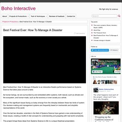Best Festival Ever: How To Manage A Disaster » Boho Interactive