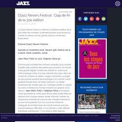 D'jazz Nevers Festival : Clap de fin de la 30e édition