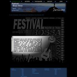 Festival de Bossa Nova 7ème Edition du 16 au 28 novembre 2015