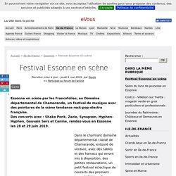 Festival Essonne en scène