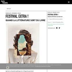 Festival Extra ! (Centre Pompidou)