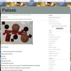 Festival framboise et chocolat (Inspiration Claire Heitzler) - Patiseb