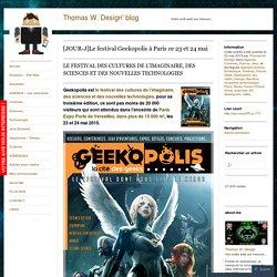 [JOUR-J]Le festival Geekopolis à Paris ce 23 et 24 mai