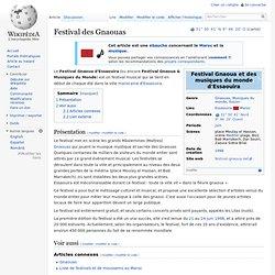 Festival des Gnaouas