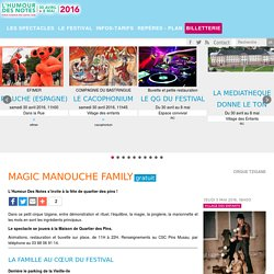 Festival l'Humour des Notes, Haguenau - MAGIC MANOUCHE FAMILY