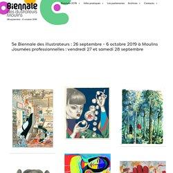 Festival des Illustrateurs à Moulins - Biennale des Illustrateurs