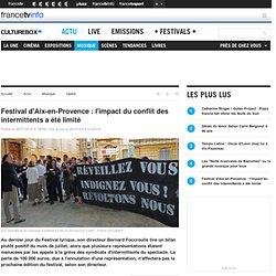 26/07 Festival d'Aix-en-Provence : l'impact du conflit des intermittents a été limité
