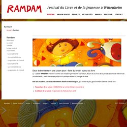 Festival du livre et de la Jeunesse à Wittenheim » Ramdam