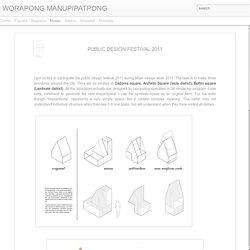 WORAPONG MANUPIPATPONG: PUBLIC DESIGN FESTIVAL 2011