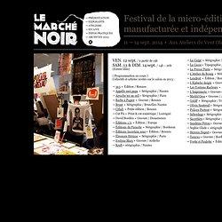 Festival Le Marché Noir – Exposants sérigraphie