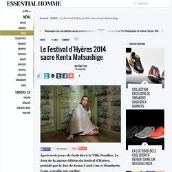Le Festival d'Hyères 2014 sacre Kenta Matsushige - ESSENTIAL HOMME