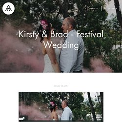Kirsty & Brad - Festival Wedding — Melbourne Wedding Film & Videography: Apertura Studios