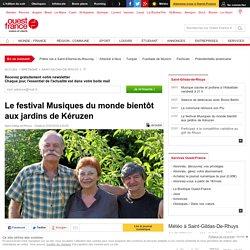 Le festival Musiques du monde bientôt aux jardins de Kéruzen