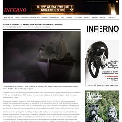Inferno / «LE RADEAU DE LA MEDUSE, NAUFRAGE DE L'HUMANITE
