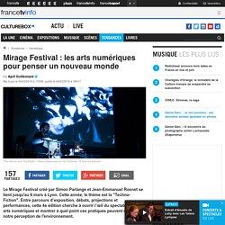 Mirage Festival : les arts numériques pour penser un nouveau monde