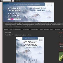 Dixit Poétic: Festival Et Dire et Ouïssance : 5ème édition