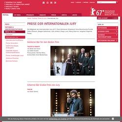 Berlinale 2017: Preise & Jurys