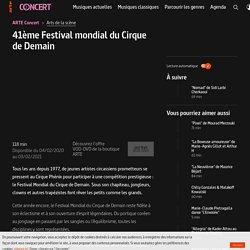 Festival du Cirque de Demain - ARTE Concert