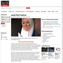 Arab Film Festival - Riverside Theatres - Film