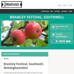 24 Oct: Bramley Festival, Southwell - TrentEvents