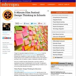 5-Minute Film Festival: Design Thinking in Schools